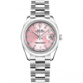 Rolex Lady Datejust 178240 pnkso 31mm Pink Dial
