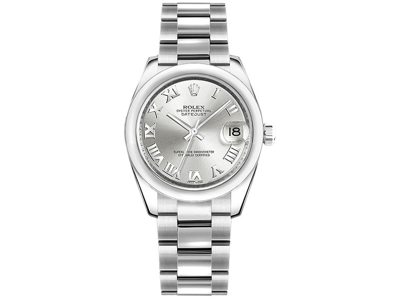 Rolex Lady Datejust 178240-0006 slvro 31mm Silver Dial