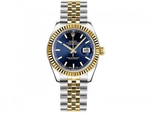 Rolex Lady Datejust 178273-BLUSJ 31mm Womens Luxury Watch