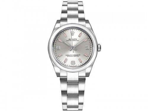 Rolex m177200-0009 Oyster Perpetual 31mm Silver Dial Ladies Watch caliber 2133 @majordor #majordor