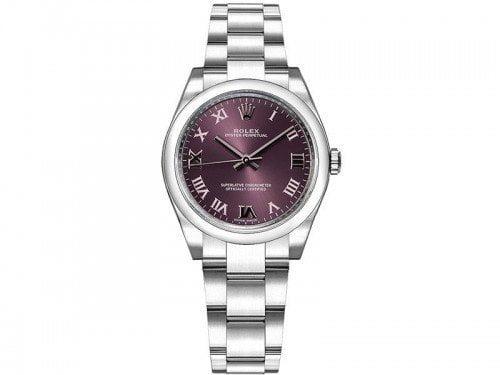 Rolex m177200-0017 Oyster Perpetual 31 Grape Red Dial Ladies Watch caliber 2133 @majordor #majordor