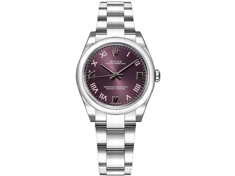 Rolex m177200-0017 Oyster Perpetual 31 Grape Red Dial Ladies Watch caliber 2133 @majordor #majordor