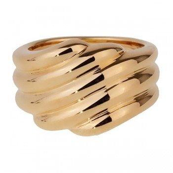 Van Cleef and Arpels 34537 Ladies Gold Cocktail Luxury Ring @majordor
