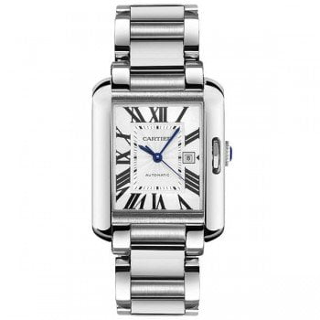 Cartier Tank Anglaise W5310008 Extra Large Steel Mens Luxury Watch caliber 1904 MC @majordor #majordor