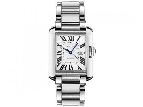 Cartier Tank Anglaise W5310008 Extra Large Steel Mens Luxury Watch caliber 1904 MC @majordor #majordor