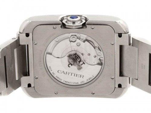 Cartier Tank Anglaise W5310008 Extra Large Steel Mens Luxury Watch caliber 1904 MC Case Back @majordor #majordor
