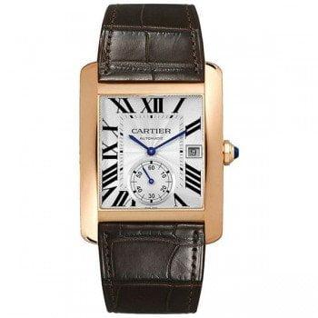 Cartier Tank MC W5330001 Automatic Rose Gold Mens Luxury Watch caliber 1904-PS MC @majordor #majordor
