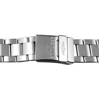 Breitling 22mm Professional III Polished Steel Bracelet 170A