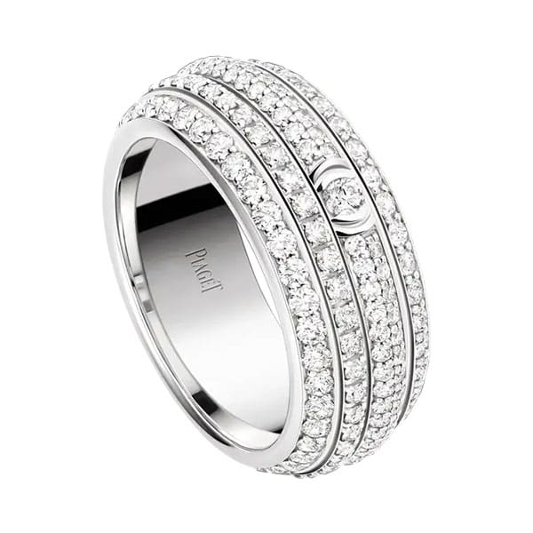 Piaget Possession Collection G34P2B00 Diamond White Gold Ladies Ring