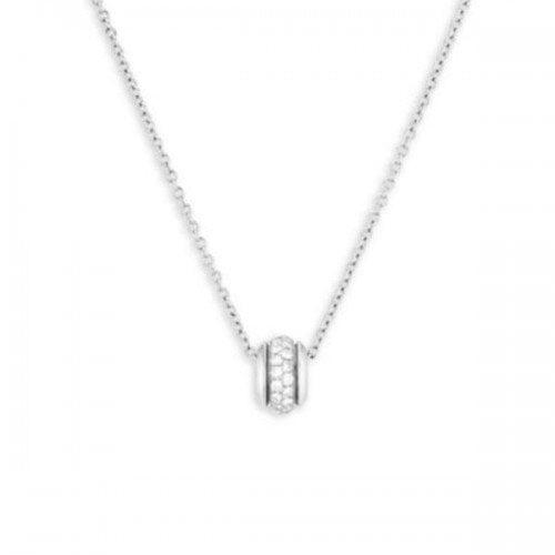 Piaget Possession Diamond 18K White Gold Pendant Necklace