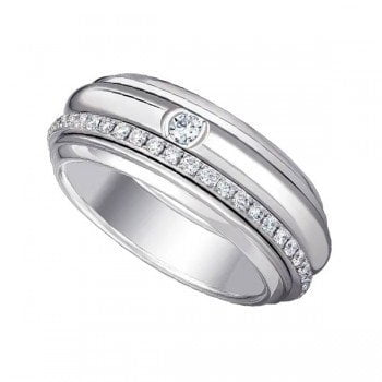 Piaget Possession G34P9A00 Diamond 18K White Gold Ladies Ring
