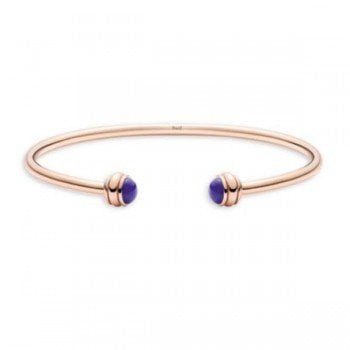 Piaget Possession Lapis Lazuli 18K Rose Gold Open Bangle G36PA800 @majordor