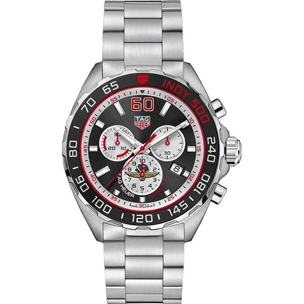 Tag Heuer CAZ101V.BA0842 Formula 1 Indy 500 Limited Edition front view @majordor