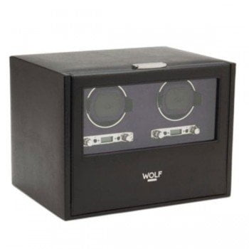 Wolf Blake Double Automatic Watch Winder Box