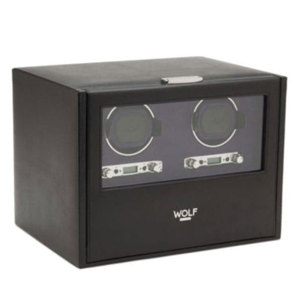 Wolf Blake Double Automatic Watch Winder Box