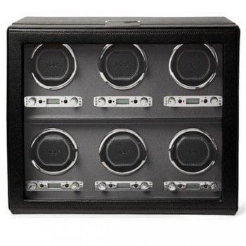 Wolf Viceroy 6-Piece Automatic Watch Winder Box