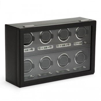 Wolf Viceroy 8-Piece Automatic Watch Winder Box
