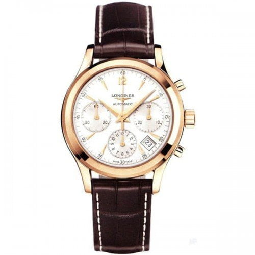 L2.742.8.76.2 Longines Heritage Column-Wheel Chronograph Watch