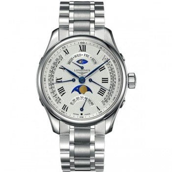 Longines Master Collection L2.739.4.71.6 Moon Phase 44mm Mens Watch