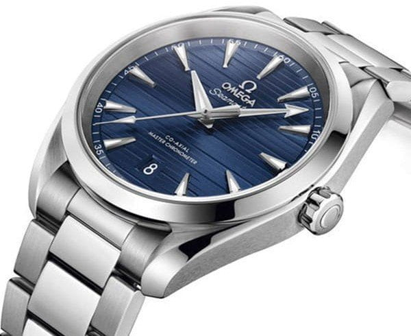 Omega Aqua Terra Blue Dial Seamaster Watches Review