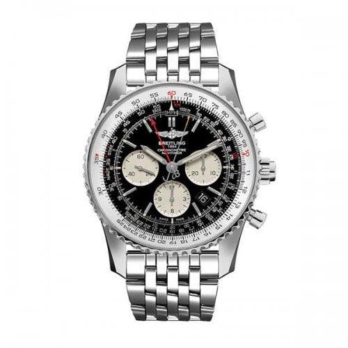 Breitling Navitimer Rattrapante AB031021/BF77-453A Chronograph Black dial @majordor
