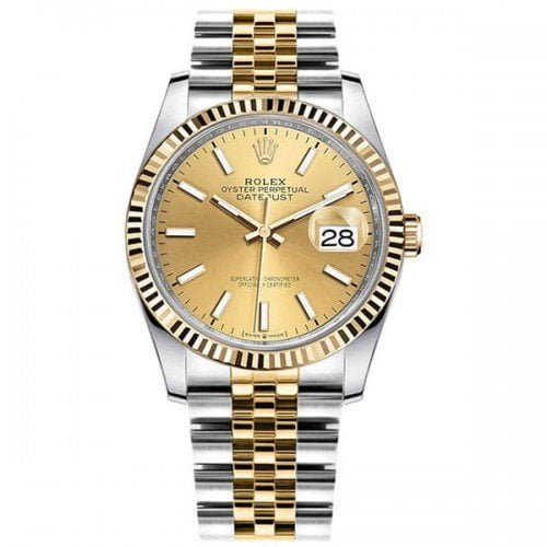 Rolex Datejust M126233-0015 chpsi 36mm Yellow Rolesor