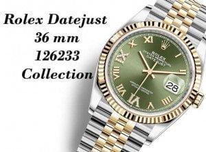 Rolex 126233 Datejust 36 Watches Collection @majordor #majordor