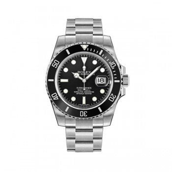 Rolex Submariner 116610LN-0001 Date Black Dial and Bezel
