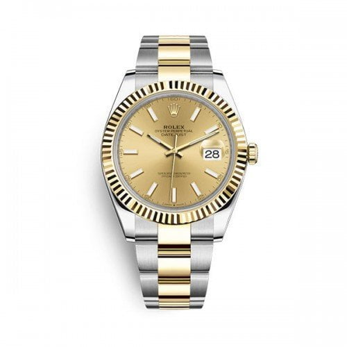 Rolex Datejust m126333-0009 chpso 41mm Champagne Dial