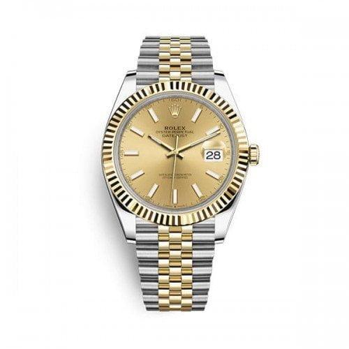 Rolex Datejust m126333-0010 gldsj 41mm Champagne Dial