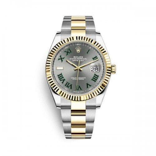 Rolex Datejust m126333-0019 sltrj 41mm Grey Wimbledon Dial