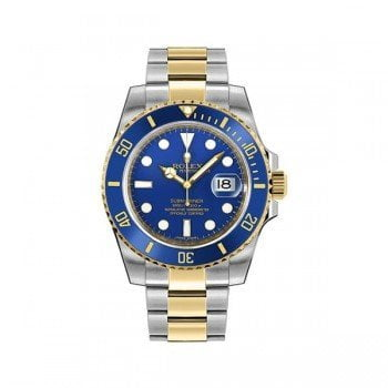 Rolex Submariner m116613LB-0005 Date Blue Dial Watch